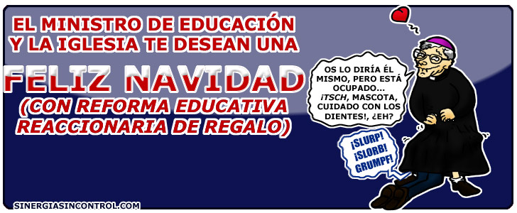 ¡Feliz reforma educativa!