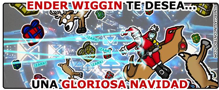 Ender Wiggin te desea una gloriosa Navidad